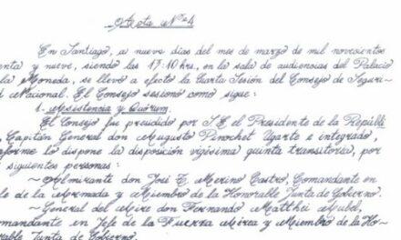 """<h1 class=""""blogtitle"""">ACTA Nº 4 CONSEJO DE SEGURIDAD NACIONAL</h1>"""