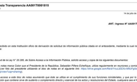 """<h1 class=""""blogtitle"""">Respuesta Transparencia AA001T0001815, PRESIDENCIA DE LA REPÚBLICA</h1>"""