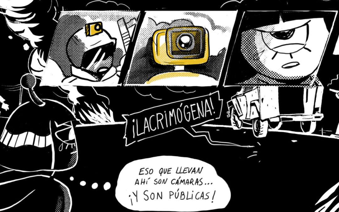 La Pública accedió por Transparencia a imágenes y las revisó con expertos: Videocámaras corporales de Carabineros grabaron violaciones a protocolos sobre uso de la fuerza durante el estallido social