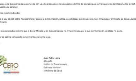 RESPUESTA TRANSPARENCIA AO001T0010522, SUBSECRETARÍA DE SALUD PÚBLICA
