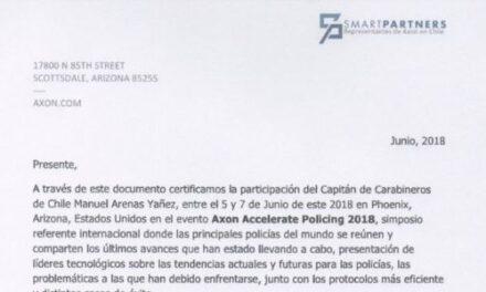 "<h1 class=""blogtitle"">CARTA DE CERTIFICACIÓN AXON, CARABINEROS DE CHILE</h1>"