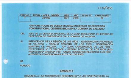 """<h1 class=""""blogtitle"""">BANDO Nº8, JEFATURA DE LA DEFENSA NACIONAL DE VALDIVIA</h1>"""