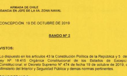 """<h1 class=""""blogtitle"""">BANDO Nº2, JEFATURA DE LA DEFENSA NACIONAL DE CONCEPCIÓN</h1>"""