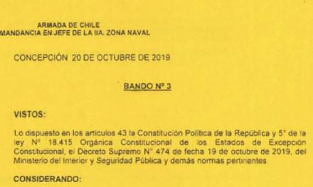 """<h1 class=""""blogtitle"""">BANDO Nº3, JEFATURA DE LA DEFENSA NACIONAL DE CONCEPCIÓN</h1>"""