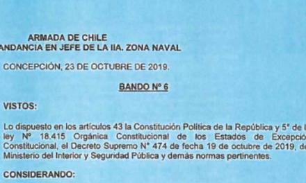 """<h1 class=""""blogtitle"""">BANDO Nº6, JEFATURA DE LA DEFENSA NACIONAL DE CONCEPCIÓN</h1>"""