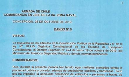"""<h1 class=""""blogtitle"""">BANDO Nº9, JEFATURA DE LA DEFENSA NACIONAL DE CONCEPCIÓN</h1>"""