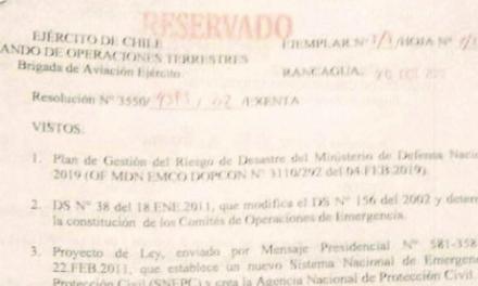 """<h1 class=""""blogtitle"""">RESOLUCIÓN EXENTA Nº2, JEFATURA DE LA DEFENSA NACIONAL DE RANCAGUA</h1>"""