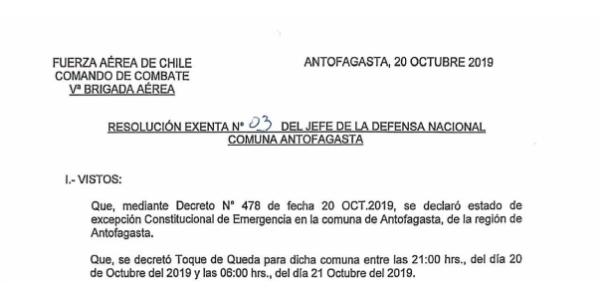 """<h1 class=""""blogtitle"""">RESOLUCIÓN EXENTA Nº3, JEFATURA DE LA DEFENSA NACIONAL DE ANTOFAGASTA</h1>"""
