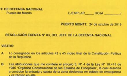 "<h1 class=""blogtitle"">RESOLUCIÓN EXENTA Nº3, JEFATURA DE LA DEFENSA NACIONAL PUERTO MONTT & OSORNO</h1>"
