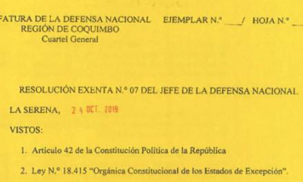 """<h1 class=""""blogtitle"""">RESOLUCIÓN EXENTA Nº7, JEFATURA DE LA DEFENSA NACIONAL DE COQUIMBO & LA SERENA</h1>"""
