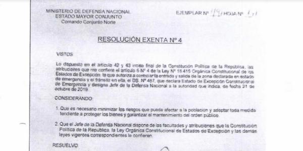 """<h1 class=""""blogtitle"""">RESOLUCIÓN EXENTA Nº4, JEFATURA DE LA DEFENSA NACIONAL DE IQUIQUE Y ALTO HOSPICIO</h1>"""
