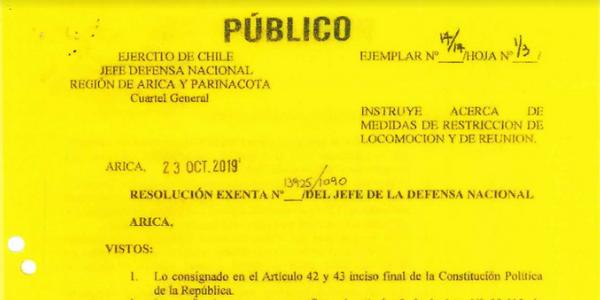 """<h1 class=""""blogtitle"""">RS. EXENTA N°13.925/1090, JEFATURA DE LA DEFENSA NACIONAL DE ARICA</h1>"""
