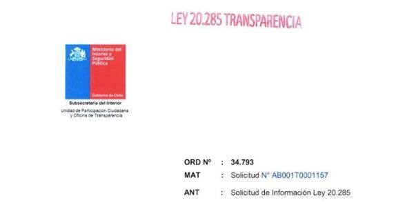 ORDINARIO Nº34.793, SUBSECRETARÍA DEL INTERIOR