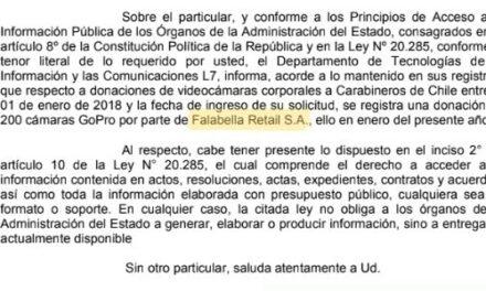RSIP N° 52993, CARABINEROS DE CHILE