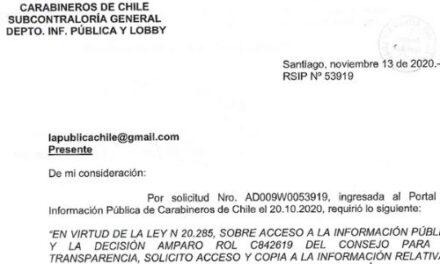 "<h1 class=""blogtitle"">RSIP Nº53919, CARABINEROS DE CHILE</h1>"