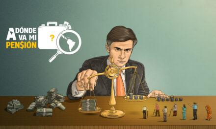 """<h3 style=""""font-size:16px;"""">Pensiones:</h3><h1 class=""""blogtitle""""> Cómo la ciudadanía financia a las grandes empresas que violan la ley</h1>"""