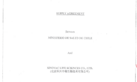 """<h1 class=""""blogtitle"""">Acuerdo de Suministro de Sinovac Life Sciences Co. Ltd. – Subsecretaría de Relaciones Económicas Internacionales</h1>"""